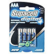 Supacell Digital AAA Batteries - 4 Pack