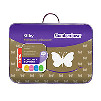 Slumberdown Silky Mattress Enhancer - Kingsize.