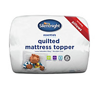 Silentnight Mattress Topper and 2 Pillow Set - Kingsize.