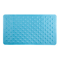 Rubber Bath Mat - Blue.