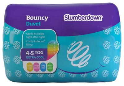 Slumberdown Bouncy 4 5 Tog Duvet Kingsize