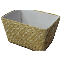 Straw Basket - Small - Natural