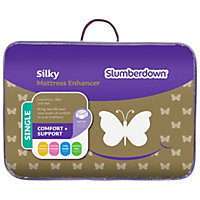 Slumberdown Silky Mattress Enhancer - Single.