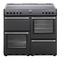 Belling Country Classic 100E Electric Range Cooker - Anthracite.