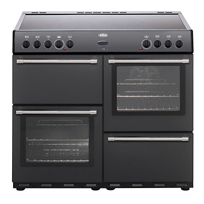 Image for Belling Country Classic 100E Electric Range Cooker - Anthracite from StoreName