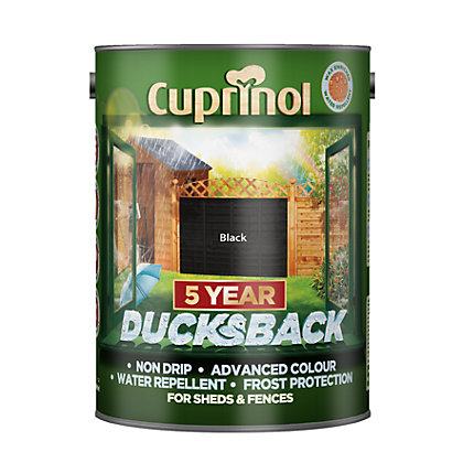Image for Cuprinol Ducksback - Black - 5L from StoreName