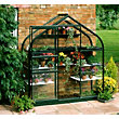 Eden Supreme Wall Garden 26 Greenhouse with Toughened Glass - Green
