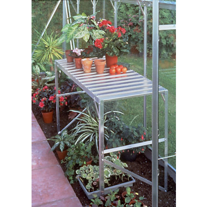Image for Eden 1 Tier Aluminium Staging for Greenhouse from StoreName
