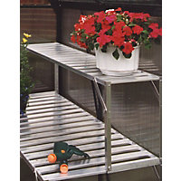 Eden Aluminium Top Extension Staging for Greenhouse - 4ft
