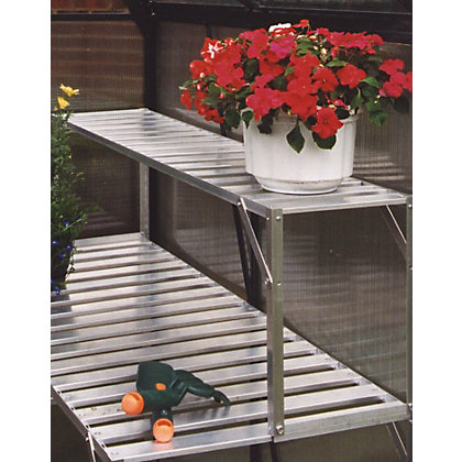 Image for Eden Aluminium Top Extension Staging for Greenhouse - 4ft from StoreName