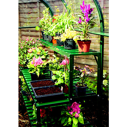 Image for Eden Green Top Extension Staging for Greenhouse - 4ft from StoreName