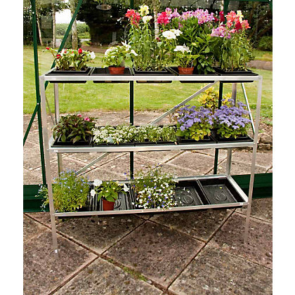 Image for Eden 3 Tier Aluminium Seed Tray - 15 Trays from StoreName