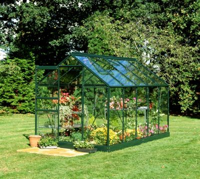 Eden Aluminium Popular Green Greenhouse with Horticultural