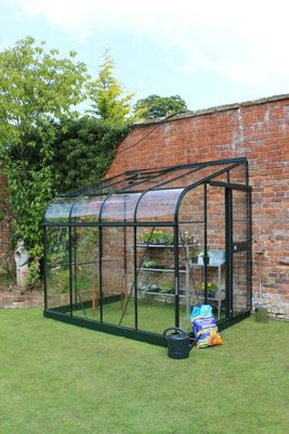 Eden Silverline 68 Lean-To Greenhouse with Toughened Glass