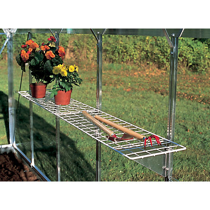 Image for Eden Greenhouse Wire Shelf with Brackets - 25x150cm from StoreName