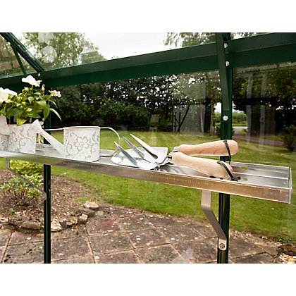 Image for Eden 2 Greenhouse Aluminium Shelves - 147x15cm from StoreName