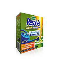 Resolva Lawn Weed Killer Liquid Shots - 6 Pack
