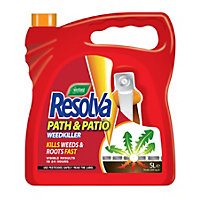 Resolva Path And Patio Ready To Use Weed Killer - 5L