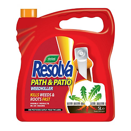 Image for Resolva Path And Patio Ready To Use Weed Killer - 5L from StoreName