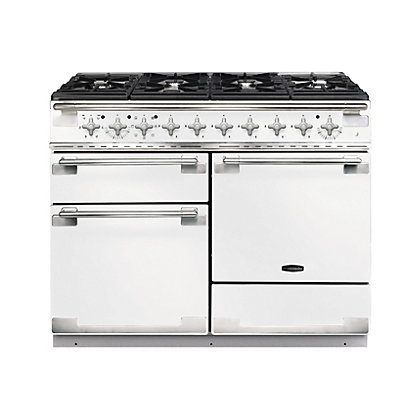 Image for Rangemaster 94250 Elise 110cm Dual Fuel Range Cooker - White from StoreName