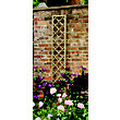 Forest Hidcote Framed Wooden Lattice - 0.3x1.8m