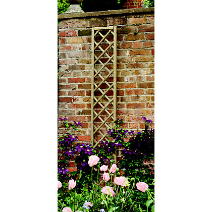 Image for Forest Hidcote Framed Wooden Lattice - 0.3x1.8m from StoreName