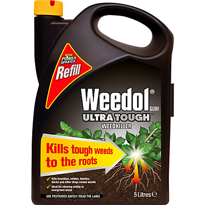 Image for Weedol Gun! Ultra Tough Ready To Use Weedkiller Refill - 5L from StoreName
