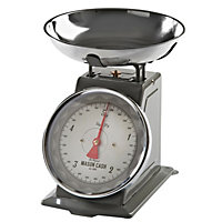 Mason Cash Baker Lane Grey Mechanical Scales - 5kg