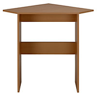 Great Value Corner Desk - Beech Effect.