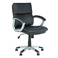 Rochester Mid-Back Office Chair - Black