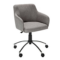 Hygena Sasha Office Chair – Grey.