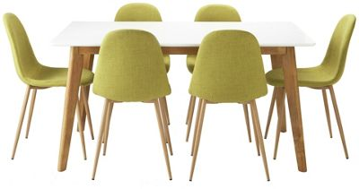hygena dining set homebase collections