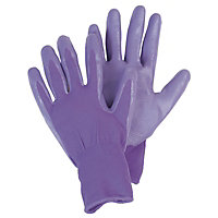Lavender Seed and Weed Gardening Gloves - Medium