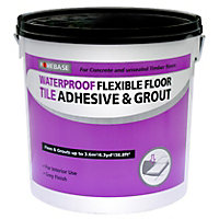Waterproof Floor and Tile Adhesive & Grout - 10L