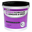 Homebase Floor Adhesive & Grout Concrete Grey - 10L