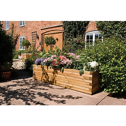 Image for Rowlinson Wooden Patio Planter from StoreName