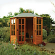 Rowlinson Ryton Octagonal Wooden Summer House - 8ft 1in x 6ft 4in