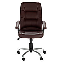 Walker Office Chair - Brown.