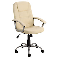 Walker Office Chair - Ivory.