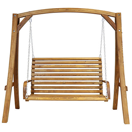 Image for Bentley Garden Wooden Swing Seat from StoreName