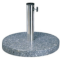 Charles Bentley 15Kg Stone Round Parasol Base