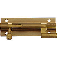 Necked Bolt - Brass - 76mm