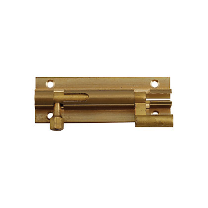 Image for Necked Bolt - Brass - 76mm from StoreName