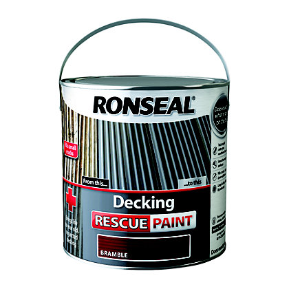 Image for Ronseal Decking Rescue Paint Bramble - 2.5L from StoreName