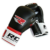 RDX Atomic Synthetic Leather Boxing Gloves - 14oz