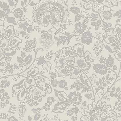 Image for Grandeco Serena Grey Wallpaper from StoreName