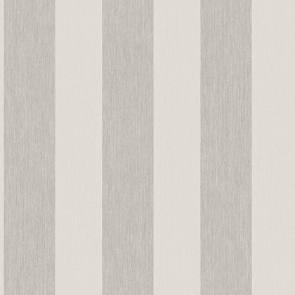 Image for Grandeco Bromley Stripe Pale Silver Wallpaper from StoreName