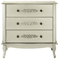 Sophia 3 Drawer Chest in Champagne