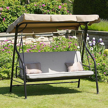 Image for Belvedere Metal Swing Seat from StoreName