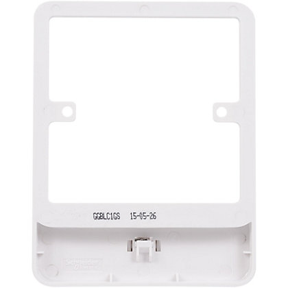Image for Schneider Electric Lisse GGBLC1GS clip accessory frame from StoreName
